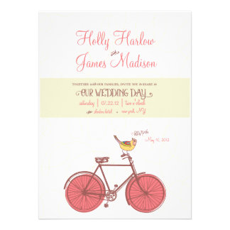 Sweet Ride - Wedding Invitation