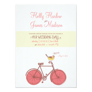 Sweet Ride - Wedding Invitation