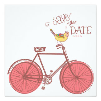 Sweet Ride Wedding Save the Date Card