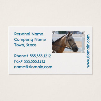 Sweet Roan Pony Business Card