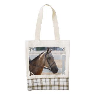 Sweet Roan Pony Zazzle HEART Tote Bag