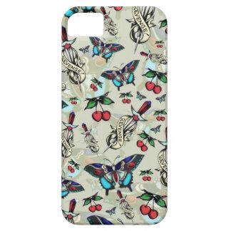 Sweet Rockabilly Revenge in subtle tan. iPhone SE/5/5s Case