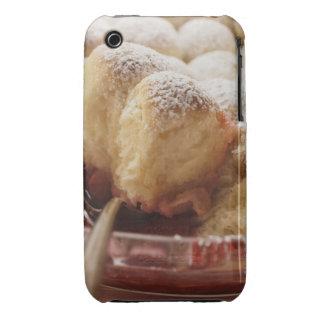 Sweet rolls (Buchteln) with icing sugar Case-Mate iPhone 3 Case