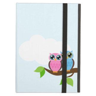 Sweet Romantic Owls iPad Air Covers