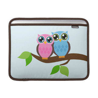 Sweet Romantic Owls MacBook Air Sleeve