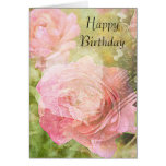 Sweet Roses Birthday Greeting Card
