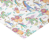 sweet safari cute baby jungle animal tissue paper