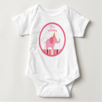 Sweet Safari Elephant Baby T-Shirt