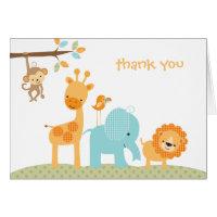 Sweet Safari Note Card