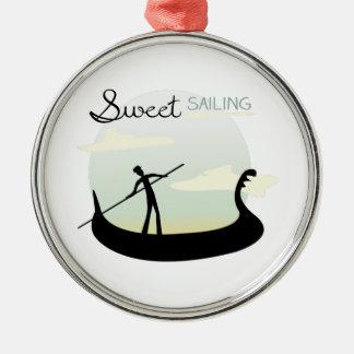 Sweet Sailing Christmas Ornaments
