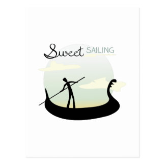 Sweet Sailing Postcard