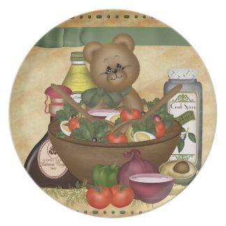 Sweet Salad Dinner Plate