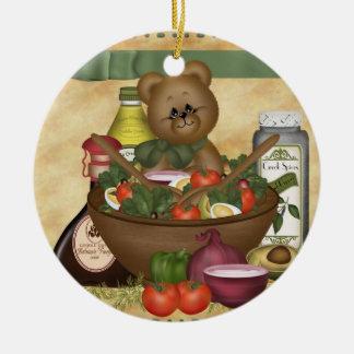 Sweet Salad Ornament Gift Tag