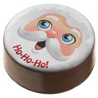 Sweet Santa Cartoon Chocolate Covered Oreo