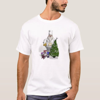 Sweet Santa Claus Chef T-Shirt