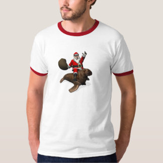 Sweet Santa Claus Loves Walruses T-Shirt