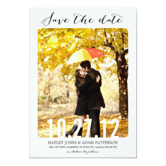 SWEET Save The Date Cards