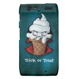 Sweet Scary Ice Cream Vampire Droid RAZR Cases