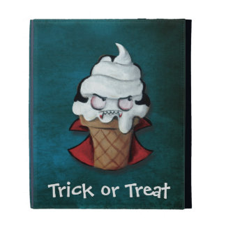 Sweet Scary Ice Cream Vampire iPad Case