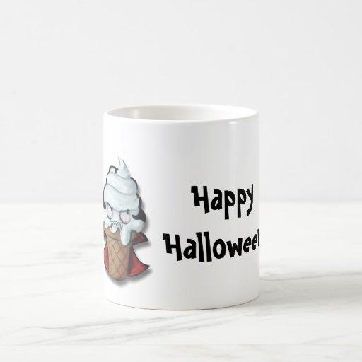 Sweet Scary Ice Cream Vampire Classic White Coffee Mug