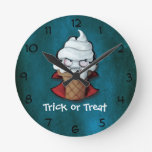 Sweet Scary Ice Cream Vampire Clocks