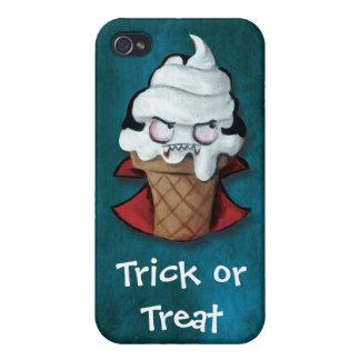 Sweet Scary Ice Cream Vampire iPhone 4/4S Covers