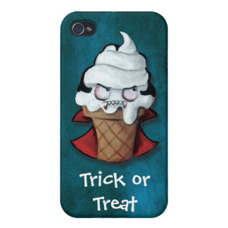 Sweet Scary Ice Cream Vampire Covers For iPhone 4