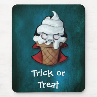 Sweet Scary Ice Cream Vampire Mouse Pad