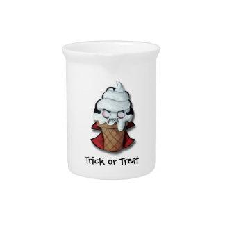 Sweet Scary Ice Cream Vampire Drink Pitcher