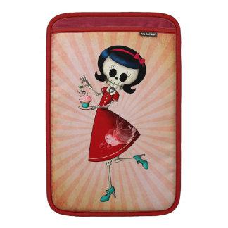 Sweet & Scary Skeleton Girl MacBook Air Sleeve
