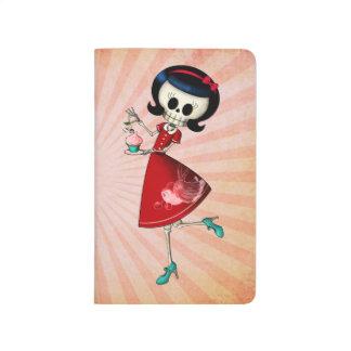 Sweet & Scary Skeleton Girl Journal