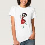 Sweet & Scary Skeleton Girl T Shirt