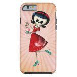 Sweet & Scary Skeleton Girl Tough iPhone 6 Case
