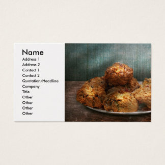 Sweet - Scone - Scones anyone Business Card