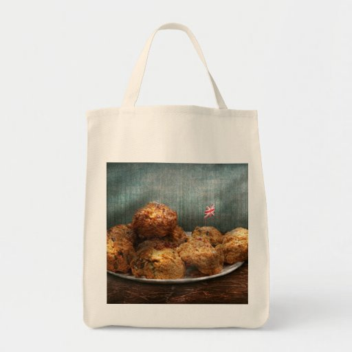 Sweet - Scone - Scones anyone Grocery Tote Bag