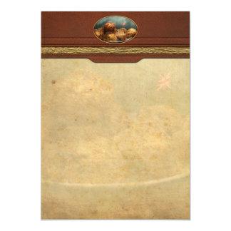 Sweet - Scone - Scones anyone 5x7 Paper Invitation Card