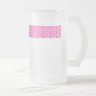 sweet scores pünktchen dabs samples circles dots frosted glass beer mug