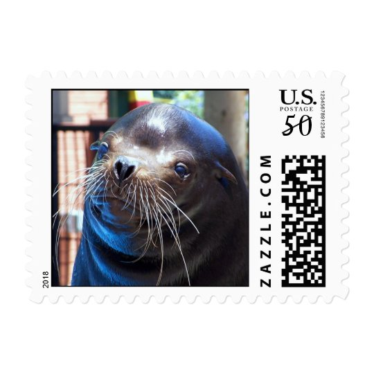 Sweet Sea Lion Postage