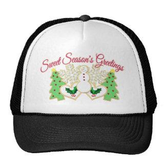 Sweet Season's Greetings Mesh Hat