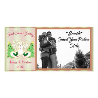 Sweet Season's Greetings Photo Card