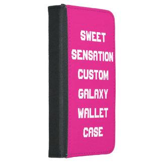Sweet sensation custom galaxy S5  wallet case