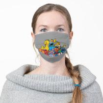 Sweet Sesame Street Pals Adult Cloth Face Mask