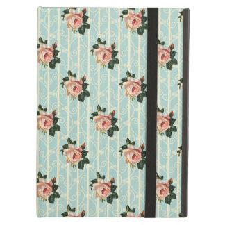 Sweet Shabby Chic Roses Vintage Floral iPad Case