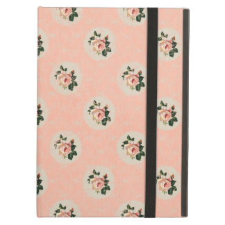 Sweet Shabby Chic Soft Pink Rose Vintage Floral iPad Case