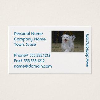 Sweet Sheepdog Business Card