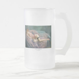 """""""SWEET SHELLY""""  Pinup girl frosted beer mug"""