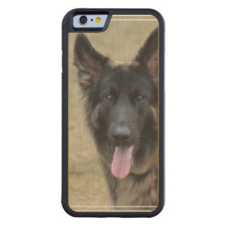 Sweet Shiloh Shepherd Carved Maple iPhone 6 Bumper Case