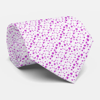 sweet shiny Floral Tie