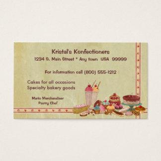 Sweet Shop Business Card