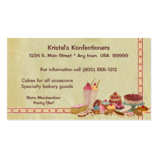 Sweet Shop Business Card